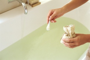 Epsom Salts help you absorb the magnesium through your skin.